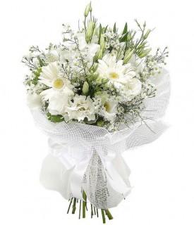 Ramalhete com Flores Brancas
